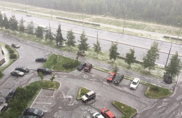 «Водоканал»: канализация после ливня с градом работает в штатном режиме