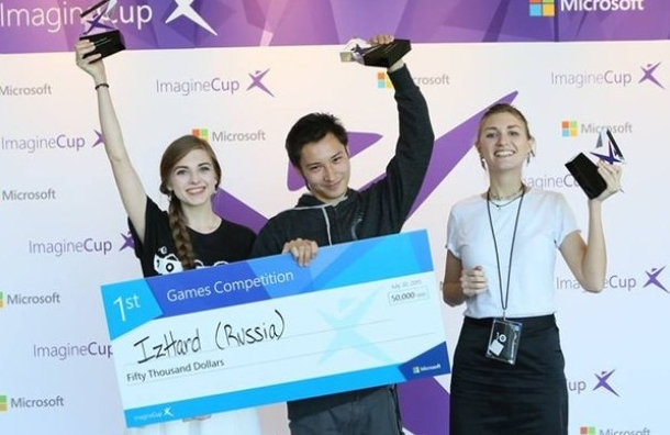 Петербургские студенты снова заняли первое место на конкурсе Imagine Cup