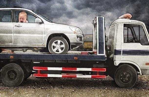 Мать оставила двухлетнего ребенка на жаре в закрытой машине