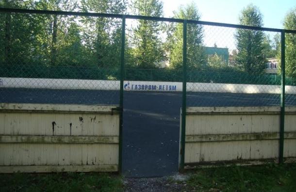 Смольный просят восстановить хоккейную площадку у метро пр. Ветеранов