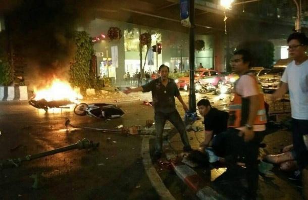 В Бангкоке прогремел мощный взрыв: есть погибшие и пострадавшие