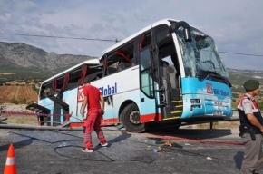Трое россиян погибли в ДТП в Турции