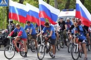 Велогонка пройдет в честь Дня флага в Колпино