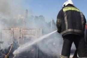 Пять автомобилей горели этой ночью в Московском районе