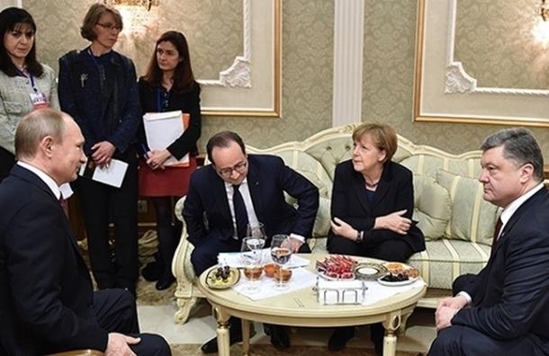 Берлин не исключает очередной встречи лидеров «нормандской четверки»