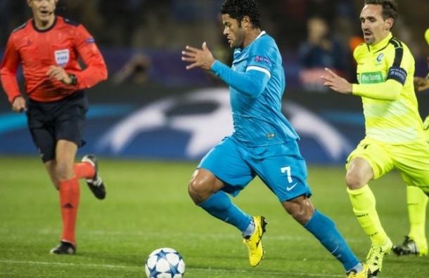«Зенит» одержал вторую победу подряд в Лиге чемпионов