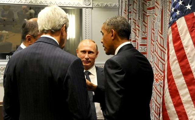 Встреча Путина и Обамы 2015: Фото