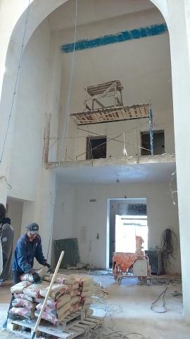 На территории больницы в Сестрорецке завершается строительство храма Ксении Блаженной : Фото