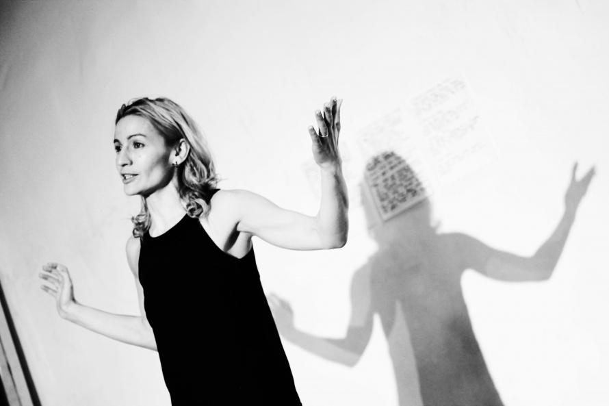 Актриса Гала Самойлова в спектакле «Клим. Дао»