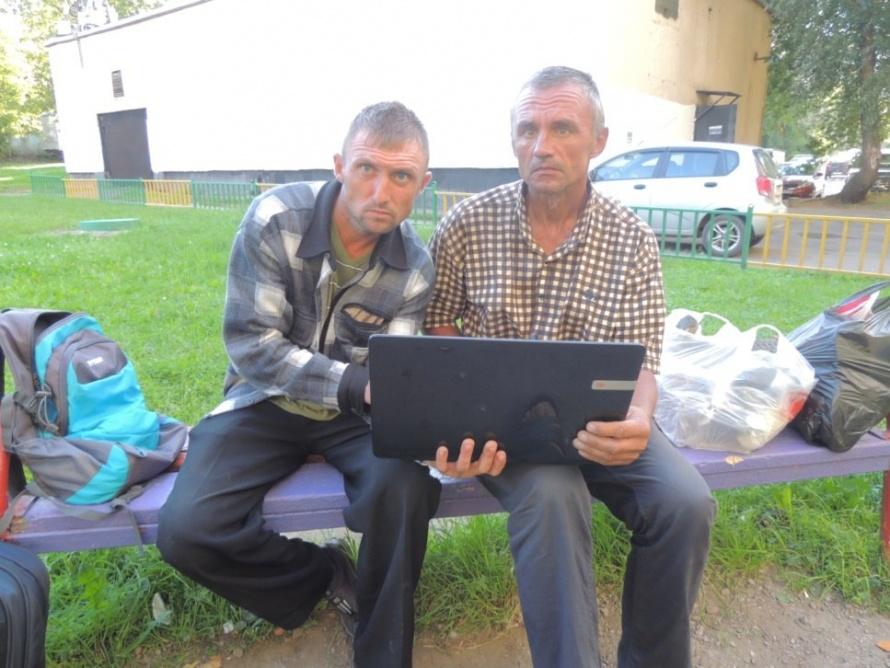 Пленники, освобожденные на кирпичном заводе в Карабудахкентском районе Дагестана, фото Олега Мельникова