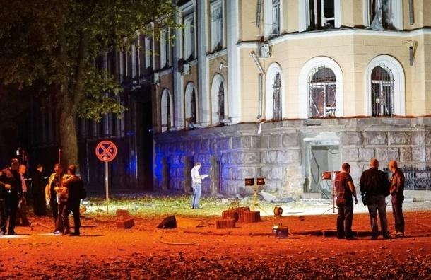 Взрыв произошел у здания СБУ в Одессе