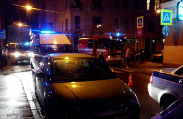 Пострадавшие в ДТП с полицейской машиной на Петроградской госпитализированы
