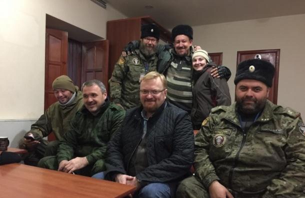 Путин нашел у Милонова заслуги перед Отечеством