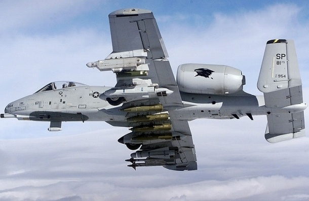 Штурмовики ВВС США А-10 Thunderbolt появятся в небе Эстонии