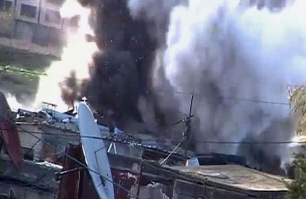 Минобороны России опубликовало видео уничтожения командных пунктов ИГ