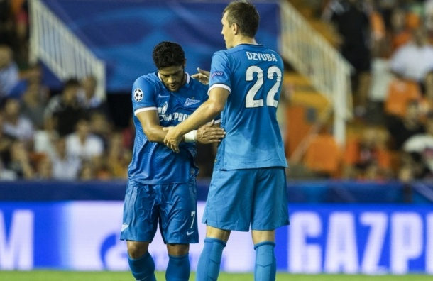 «Зенит» победил «Валенсию» в Лиге Чемпионов со счетом 2:3