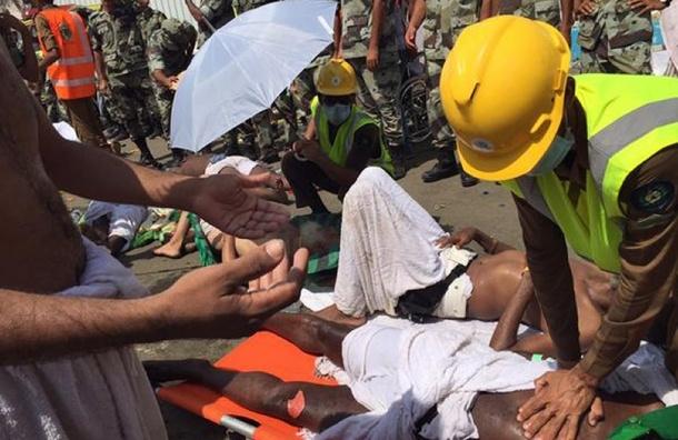 Количество погибших в давке возле Мекки достигло 310 человек