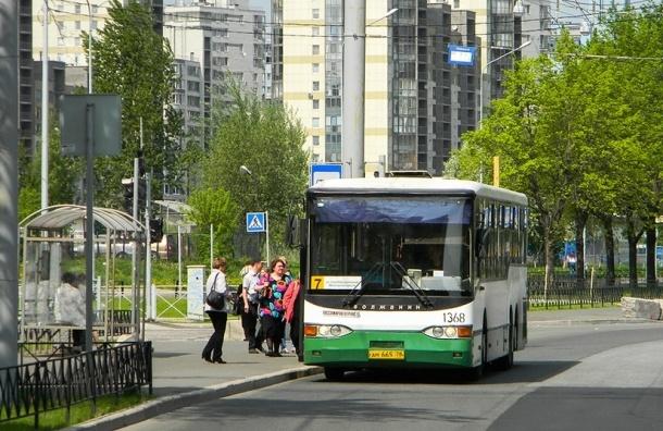 Движение автобусов усилено на Васильевском острове