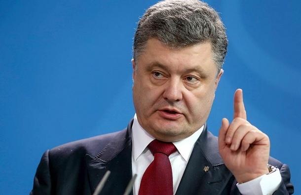 Порошенко рассказал о причинах блокады Крыма