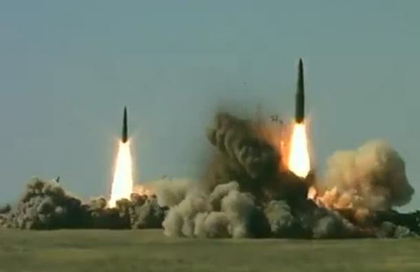 Боевые пуски «Искандер-М» проходят на учениях под Астраханью