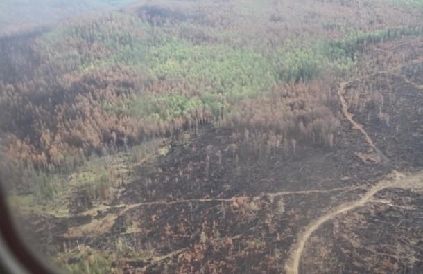 Глава МЧС вылетел на пожары в Бурятию