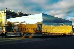 В зеркальном кубе на Дворцовой проведут закрытую презентацию BMW