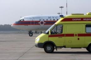 Из Донбасса спецборт МЧС доставит в Петербург тяжелобольных детей