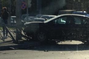 Три автомобиля столкнулись в Московском районе