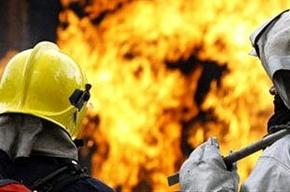 Пожарные тушили пожар на улице Красного Курсанта