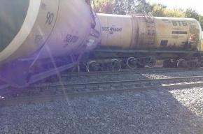 После аварии грузового поезда под Саратовом образовался затор на ж/д дороге