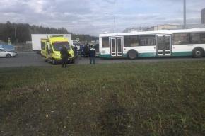 Ребенок пострадал в аварии на Парашютной