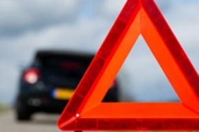 Массовая авария произошла во Фрунзенском районе