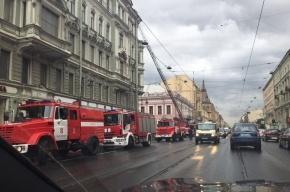 Из горящей коммуналке на Фурштатской спасли четверых человек