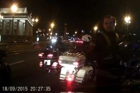 Байкеры напали в Петербурге на таксиста за то, что он «вклинился» в их колонну