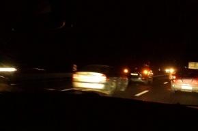 Массовая авария произошла на Мурманском шоссе