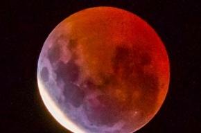«Кровавая» Луна будет видна жителям Земли в ночь на 28 сентября