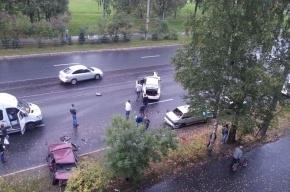 Массовая авария произошла на проспекте Науки
