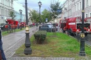 Пожар повышенной сложности тушили на Фурштатской