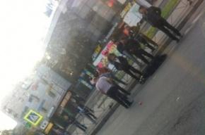 В Петербурге у станции «Международная» маршрутка сбила пешехода