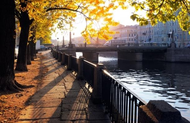 Самую теплую пятницу за последние 14 лет ждут в Петербурге завтра