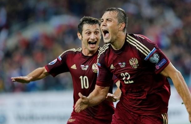 Отборочный турнир Евро 2016: Россия на втором месте в группе