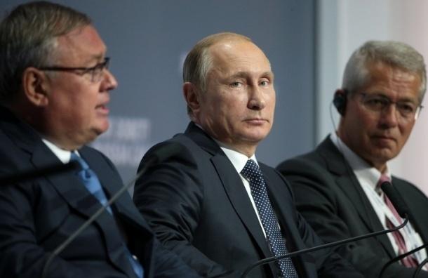 Путин: пик кризиса достигнут, экономика РФ приспособилась к новым условиям