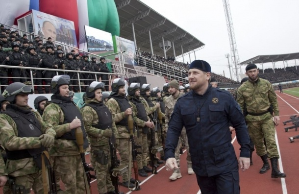 Кадыров просил Путина отправить в Сирию чеченскую пехоту