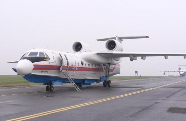 Самолет-амфибия Бе-200 вылетел на поиски моряков с перевернувшегося у Курил судна