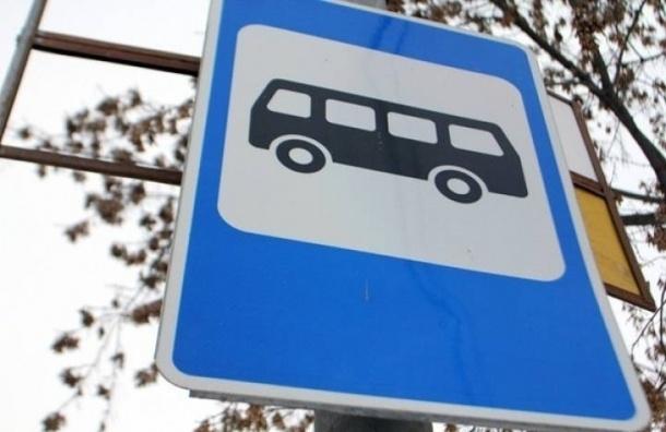 Маршруты трех автобусов изменяются работ на Тверской