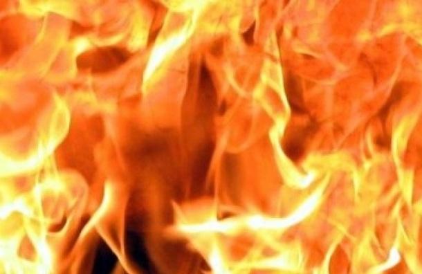 Десятимесячная девочка пострадала в пожаре на Лиговском проспекте