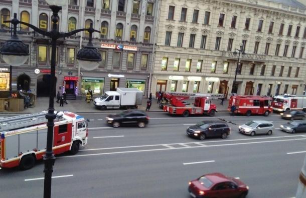 Пожарные выезжали в «Невский палас» из-за возгорания на кухне