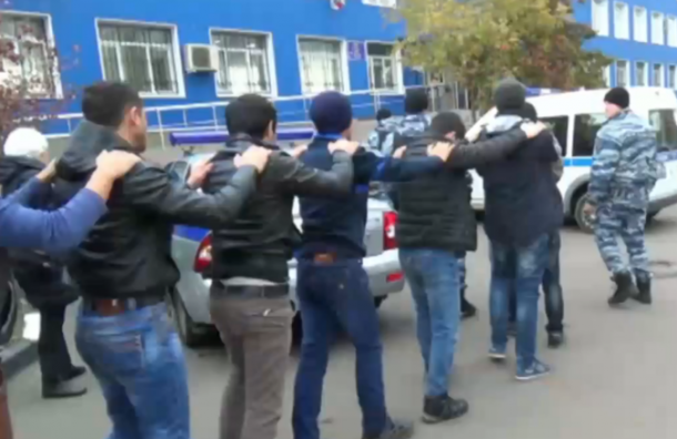 Масштабные задержания террористов и их пособников прошли в Москве (видео)