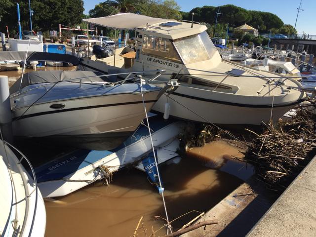 Наводнение на Лазурном берегу в Каннах и Ницце: Фото