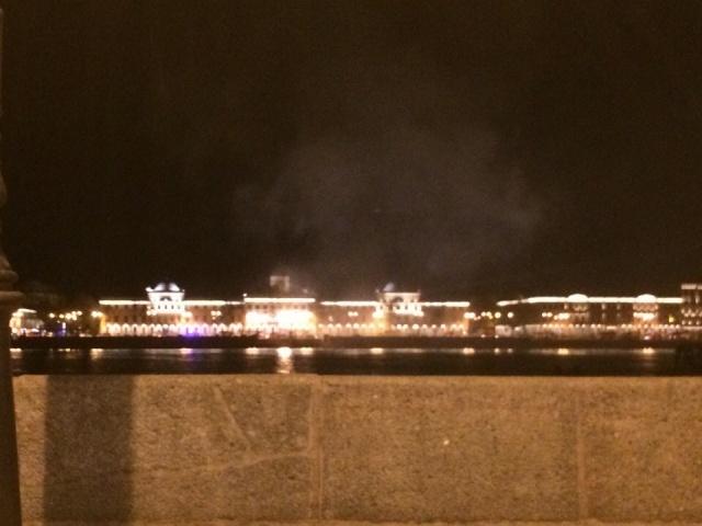 Пожар в здании Морского кадетского корпуса, 11.10.15, Фото: соц.сети: Фото